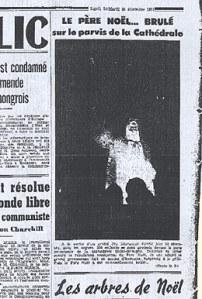 Le Bien public, le 25 décembre 1951
