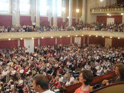Nathan et 800 autres enfants sur scène (Konzerthaus)