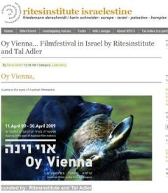 Austrian film festival in Tel Aviv, Jerusalem and Haifa