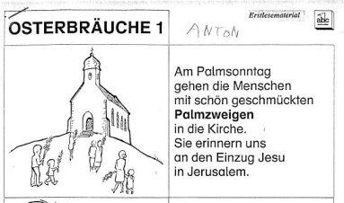 Pâques à l'école publique (!) autrichienne
