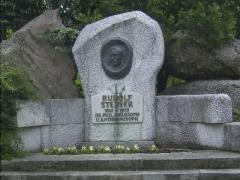 Rudolf Steiner est en bonne place à Vienne... au Schweizer Garten