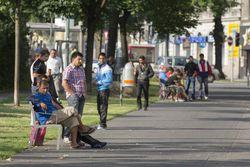 Vienne, juillet 2012, sur la Gürtel (boulevard circulaire)
