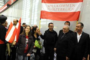 Bienvenue en Autriche (aux Syriens chrétiens !)