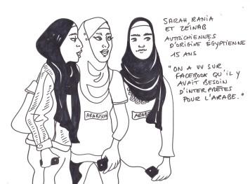 3 jeunes interprètes
