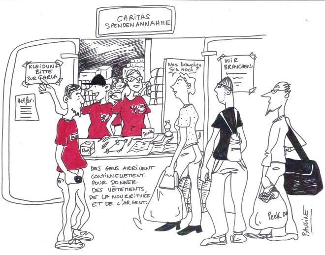Centre de dépôt de dons Caritas