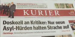 """""""seule de nouveaux obstacles à l'asile pourront stopper Strache (du FPÖ)"""