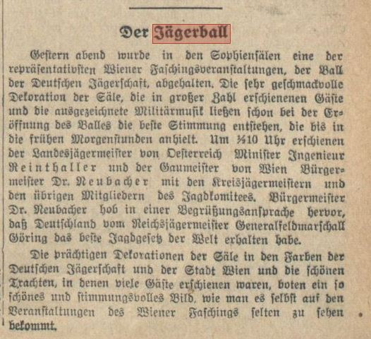 Neues Wiener Tagblatt (Tages-Ausgabe) - 14 février 1939