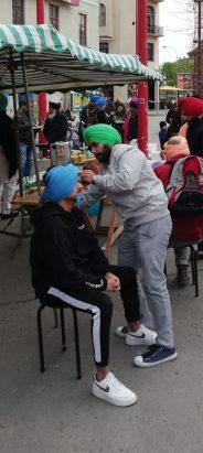 Essai de turban